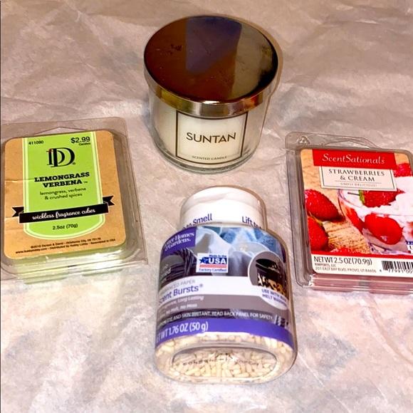 Candle and wax melt bundle